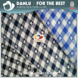Baumwollgarn-gefärbtes Jacquardwebstuhl-Plaid-Gewebe 100% für Hemd