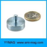 Magnete del neodimio del magnete della tazza di alta qualità con il foro della vite