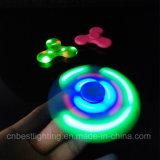 Finger-Unruhe-Spinner-Spielzeug der Fabrik-Preis Bluetooth Lautsprecher-Musik-LED helles