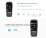 Explorador Handheld androide del código de barras de la pantalla táctil del OS 4inch PDA con NFC (PDA3503)