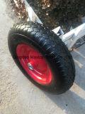 Rotella pneumatica della gomma della carriola