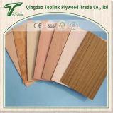 folha barata da madeira compensada do preço da classe comercial de 2.4mm para Malaysia