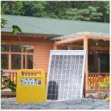 Le petit pouvoir fourni de système d'alimentation solaire pour toutes sortes d'appareils électriques de basse tension