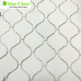 Mosaico Polished del marmo delle mattonelle di pavimento della pietra del getto di acqua per materiale da costruzione