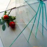 Duidelijk die Glas van de Vlotter 2mm voor Decoratie door Grote Techology wordt gemaakt