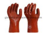 PVC покрывая противоскользительные Frigostable перчатки 998 работы перчаток