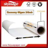 El valor del dinero 88GSM 24 '' *100m ayuna papel de transferencia seco y impermeable de la sublimación del tinte para la impresión de materia textil
