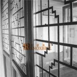 El panel de aluminio perforado de capa por encargo de la fachada de PVDF