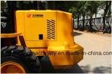 Tipo pequeno carregador 1.6ton da roda com o toldo com motor de Weichai