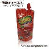 Мешок прокатанный пластмассой babyfood Daniqing упаковывая сока раговорного жанра Spout Y1701