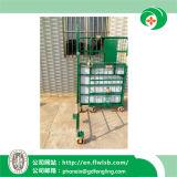 Carrello d'acciaio pieghevole personalizzato della spedizione per memoria del magazzino