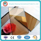 vidrio reflexivo de bronce de cristal constructivo de 4mm-8m m