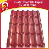 Telha de telhado plástica espanhola de comércio do PVC de /ASA da telha de telhadura de /ASA da telha de telhadura da resina sintética da garantia