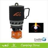 Nouveau poêle de camping pliable à gaz miniature