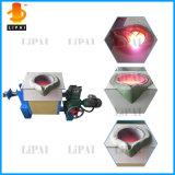 печь алюминиевой индукции частоты средства емкости 20kg плавя