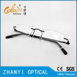 Blocco per grafici di titanio senza orlo leggero di vetro ottici di Eyewear del monocolo con la cerniera (5004) - C