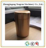 Vasilha de alumínio alta do chá, recipiente do chá, caixa de alumínio do metal