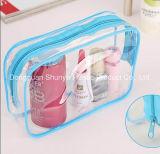 Bolsas de plástico claras para embalar saco de vinil para cuidados com a pele