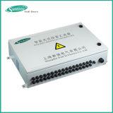 Cordas solares da caixa 4-16 do combinador
