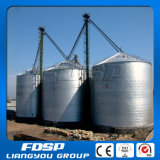 Silo de acero galvanizado silo empernado 100t 200t del almacenaje