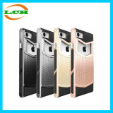 Caixa Shockproof do telefone da anti armadura Shaped dupla da camada V do enxerto para iPhone7