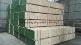 Le panneau d'échafaudage de LVL d'usage de construction avec rayonnent le bois de construction de pin
