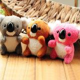 O OEM aceita o mini brinquedo de Keychain do urso de Koala do luxuoso