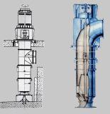 Säubern hl Serien-vertikales Misch- Fluss-Pumpe