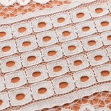 Tissu d'élastique de lacet d'extension