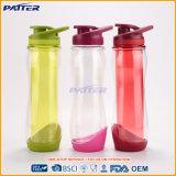 Artículo del precio razonable usar la botella al por mayor del plástico de la pared del doble del recorrido