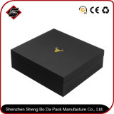 Boîte-cadeau personnalisée de bijou de papier d'emballage d'impression de logo