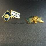 Vente en gros dure personnalisée d'insigne de Pin de revers d'émail de pavot