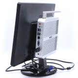 PC de sobremesa silencioso tamaño pequeño Intel Skylake I3-6100u del Itx de la mini PC de Fanless
