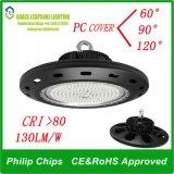 Baia all'ingrosso del UFO LED di qualità 150W della fabbrica la buona alta si illumina (CS-GKD016-150W)
