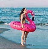 Galleggiante gonfiabile di vendita caldo di nuoto del fenicottero dell'unicorno del cigno, madiere flottante, materasso dell'acqua