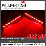 LEDの警告のダッシュの内部の台紙のライトバー