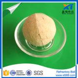 Bola refractaria común para la refinería