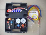 Calibrador refrigerante de las piezas autos de la CA conveniente para el gas R22/R134/R410