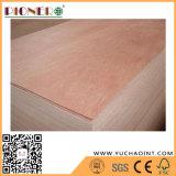 Innenverbrauch 4 ' x8 Furnierholz-preiswertes Handelsfurnierholz