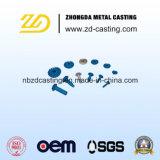 Pieza de acero fundido de los accesorios mecánicos de Customed