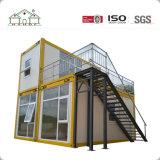 Stahlkonstruktion-bewegliches modulares Haus für Baustelle