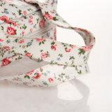 (99184) Wasserdichtes Belüftung-Blumenmuster-Segeltuch-Blumendame-Handtasche