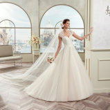 A elegante - a linha laço de Tulle do querido Appliques o vestido de casamento 2017