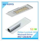 세륨 RoHS 증명서를 가진 매우 호리호리한 120W Philips Lumileds LED 옥외 빛