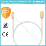 Schnelles aufladendes Mikro-USB-Kabel für Samsung Sony HTC