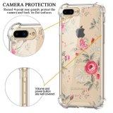 iPhone 7 аргументы за тонкой противоударной TPU Bumper крышки цветка трудное добавочное