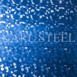 Hoja de la rayita Kbh004 del color de la plata del acero inoxidable para los materiales de la decoración
