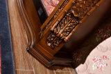 Cheminée électrique de chaufferette en bois à la maison antique de meubles avec du ce (330)
