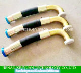 Mangueira de borracha hidráulica flexível SAE100r13 do petróleo de alta pressão espiral