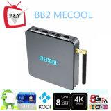 유행 디자인 Mecool Bb2 인조 인간 텔레비젼 상자 지원 1080P/2k/4k